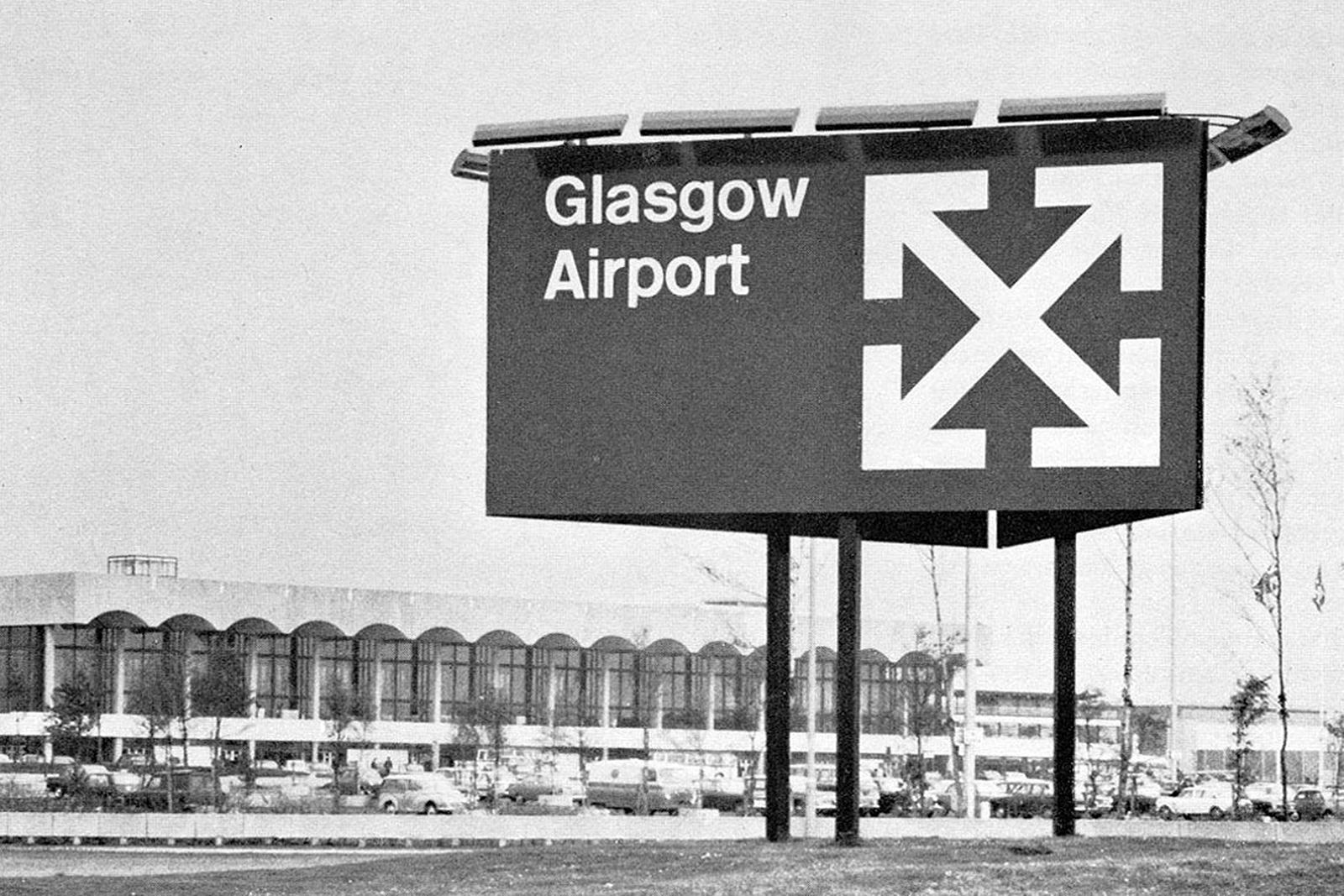 Margaret Calvert — Glasgow Airport