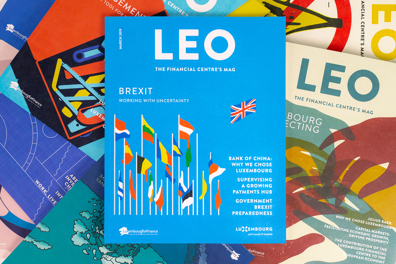 LEO Magazine Cover Designs by O Street