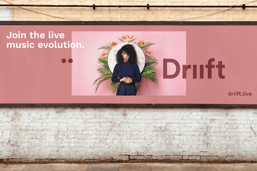 Driift billboard advert