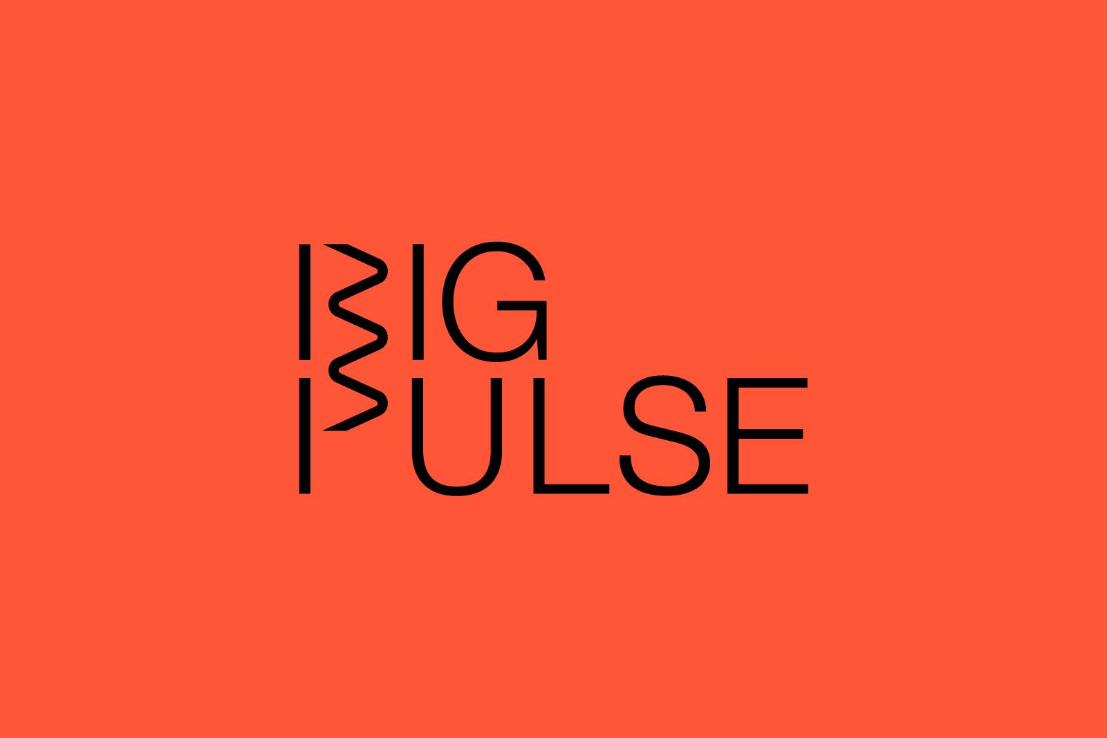 Still Big Pulse logo on red